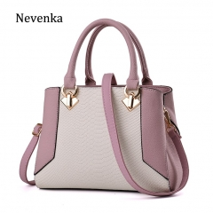 Women Leather Handbag Large Capacity Shoulder Bags Female Serpentine Handbags Ladies Purses and Handbags for Women 2018
