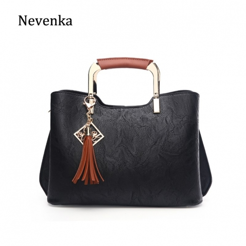 Nevenka Luxury Handbags Women Leather Shoulder Bag Female Casual Totes Girls Purses and Handbags Ladies Crossbody Bags for Women