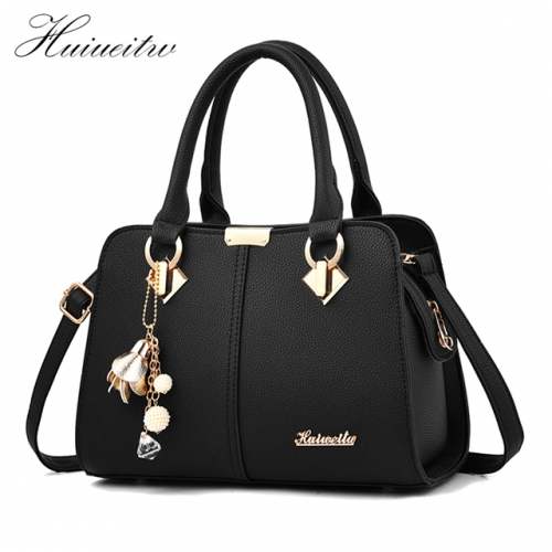 Huiueitw Handbags Luxury Ladies Hand Bags Purse Fashion Shoulder Bags Large Capacity Shoulder Bags Casual Tote Simple Top-handle Hand Bags